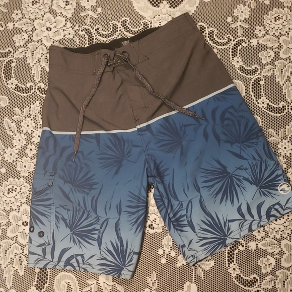 Ocean Currents Boys large swim trunks